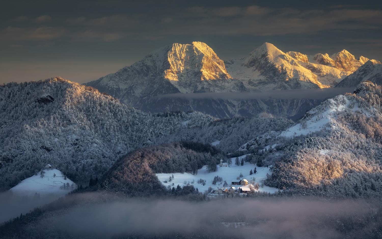 Slovenian Alps by Piotr Skrzypiec