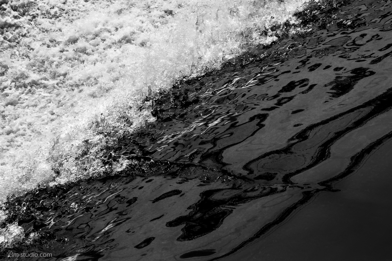 Waterfall Beginning by Elissa McMeniman