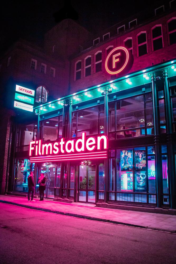 Neon Cinema by Magnus Ådegren