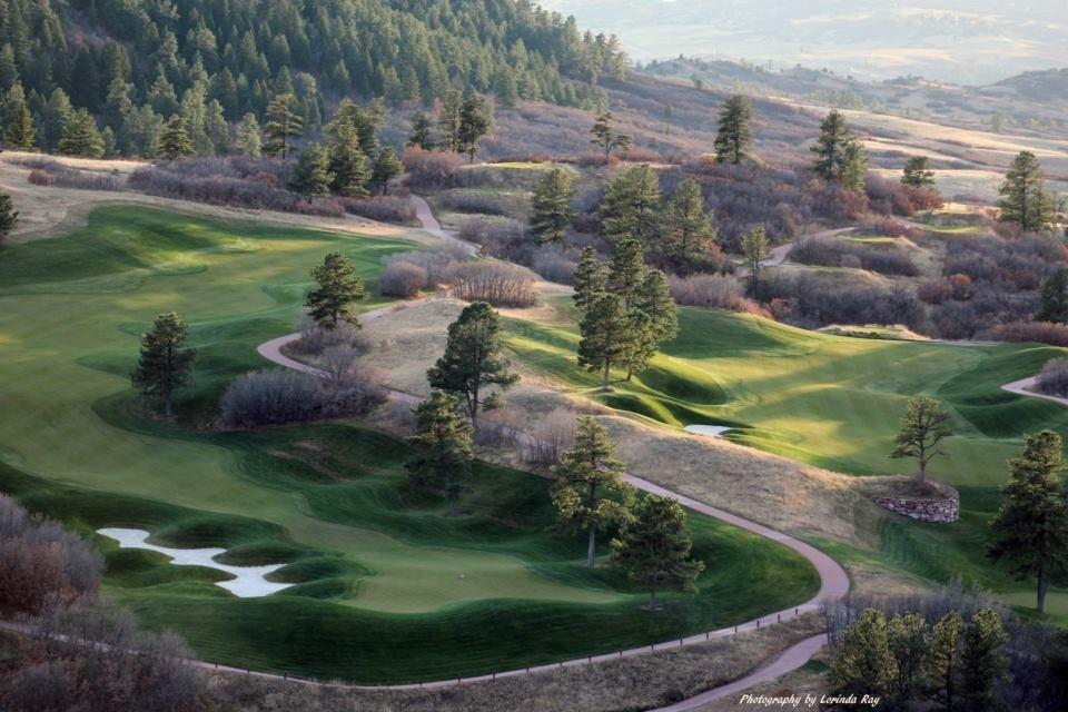 Fantasy Golf by Lorinda Ray
