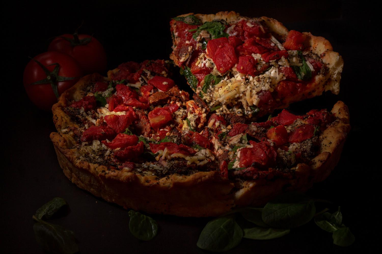 Vegan Deep Dish by Chris Nemeth