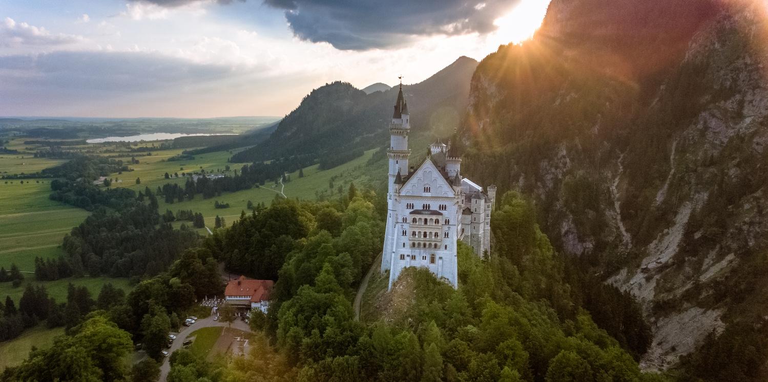Sunrise in Bavaria.  by Stas Aleksandersson