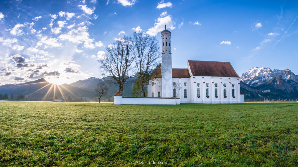 New Day in Bavaria. by Stas Aleksandersson
