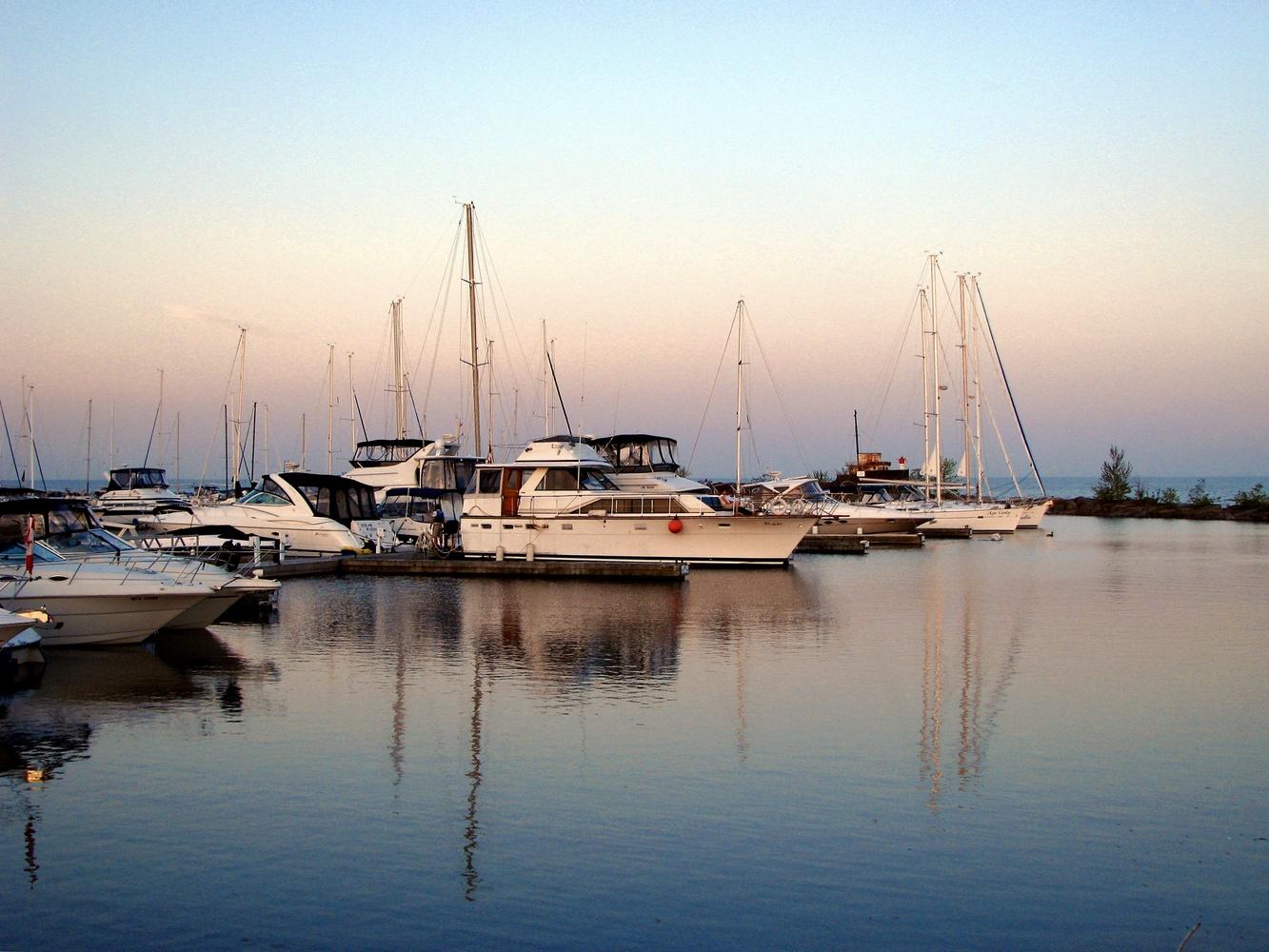 Oakville Harbour by Paul Asselin