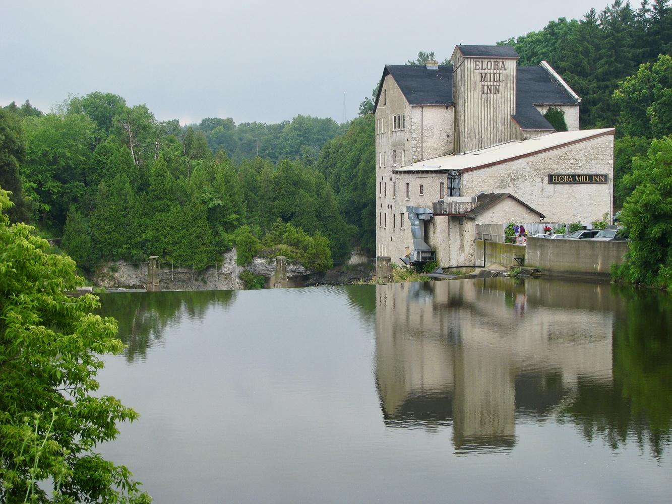 Elora Mill, Elora, ON by Paul Asselin