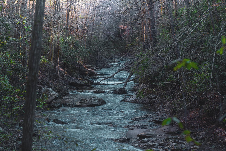 Big Bradley Falls, NC by Daniel Rice