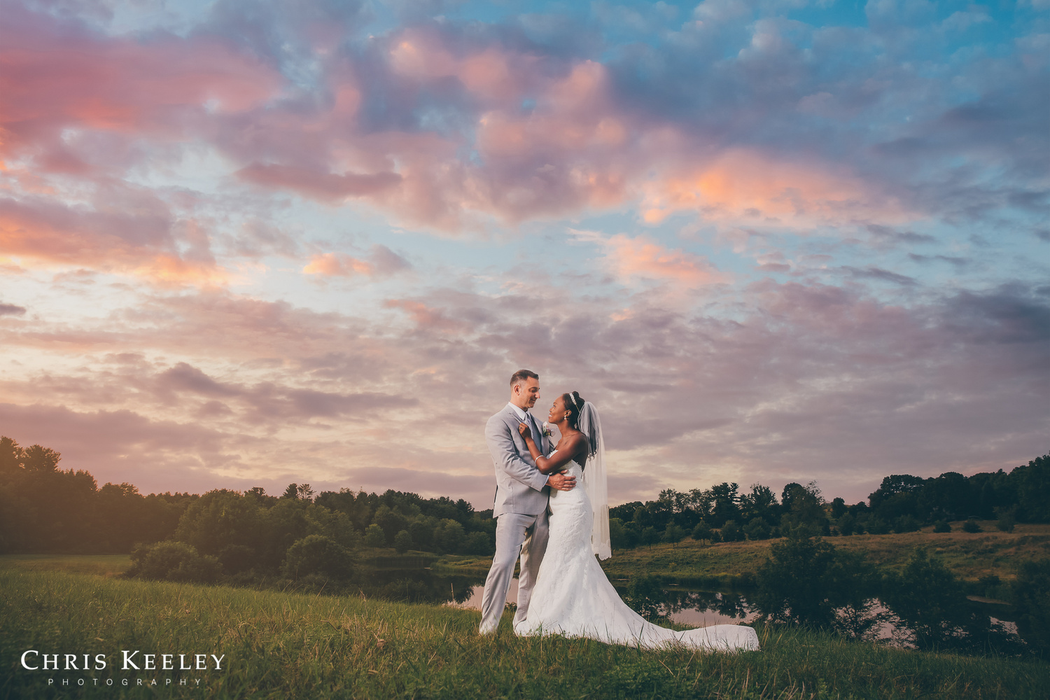 Sunset portrait by Chris Keeley