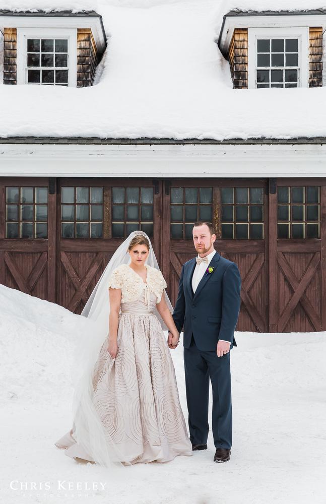 Winter Wedding by Chris Keeley