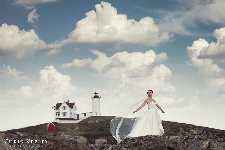 Epic Bridal Portrait by Chris Keeley
