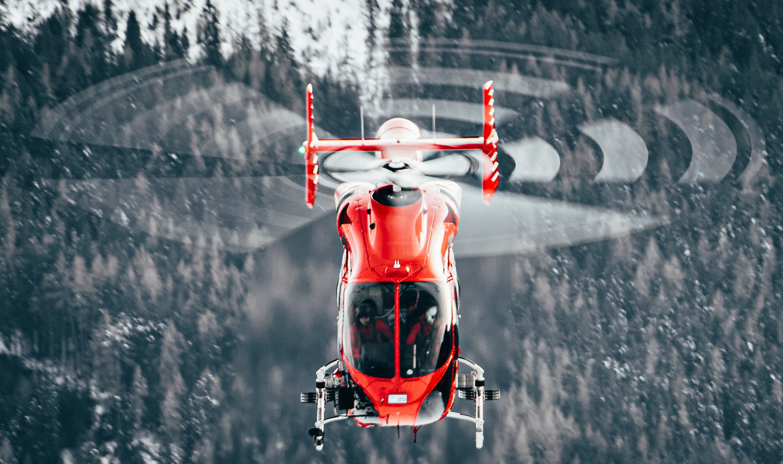 Medical helicopter in Austria by Steven de Vet