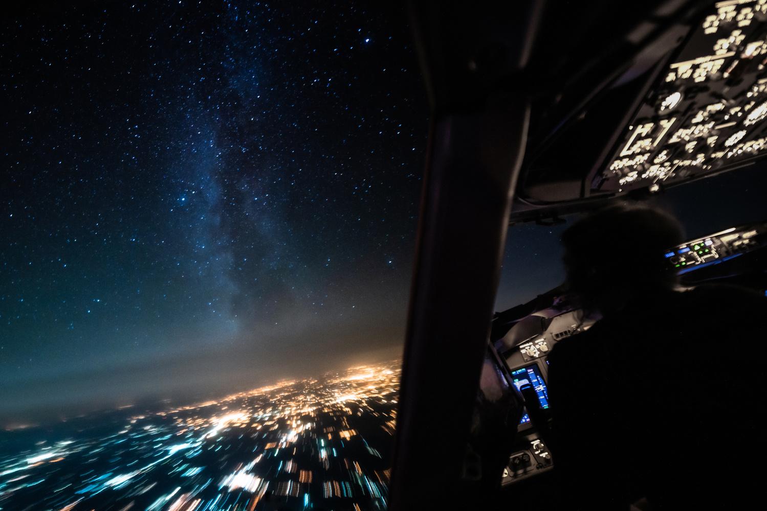 Milkyway from above by Steven de Vet