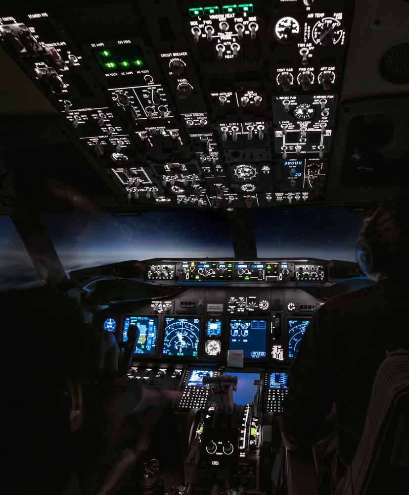 Flying to the milky way by Steven de Vet