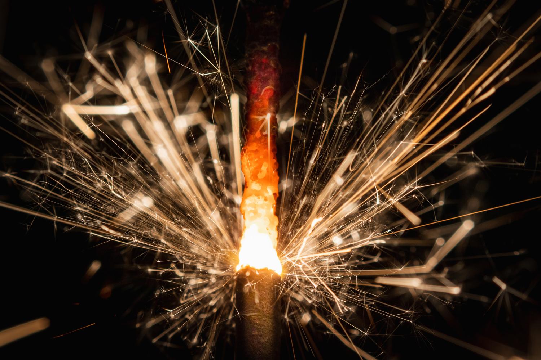 Celebration Sparkler by Greg Rosenke