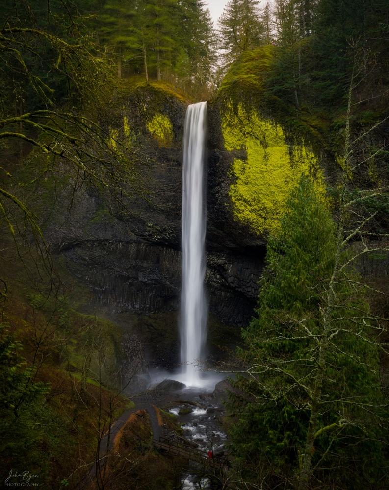 Latourell Falls by John Byrn