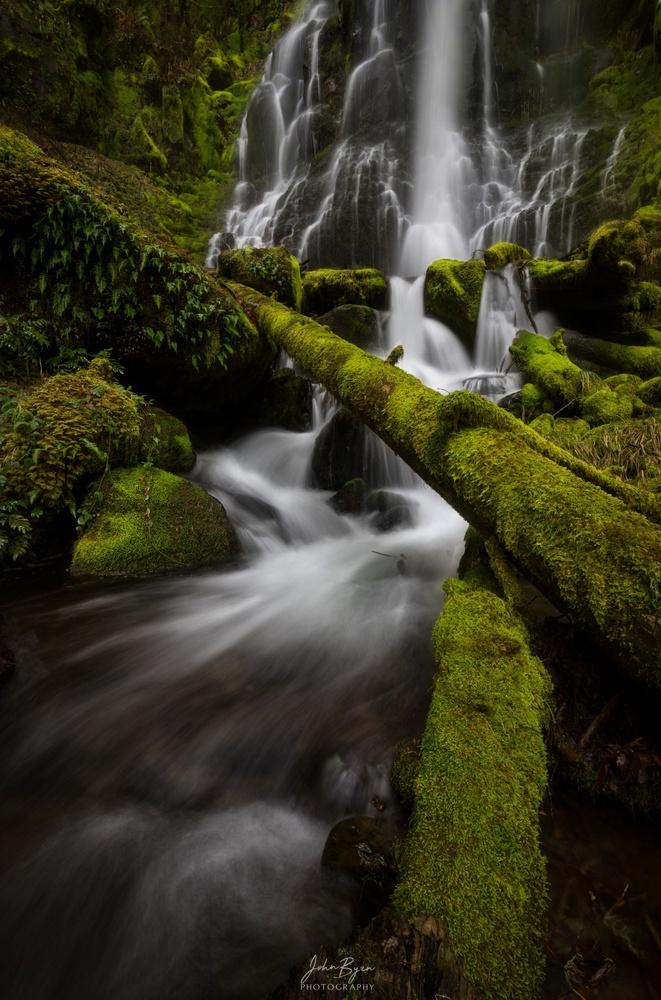 Waterfall Crossing by John Byrn