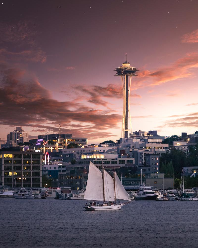 Sunset Cruise by John Byrn