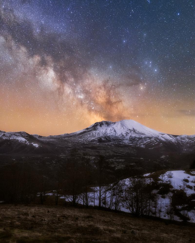 Galactic Eruption by John Byrn