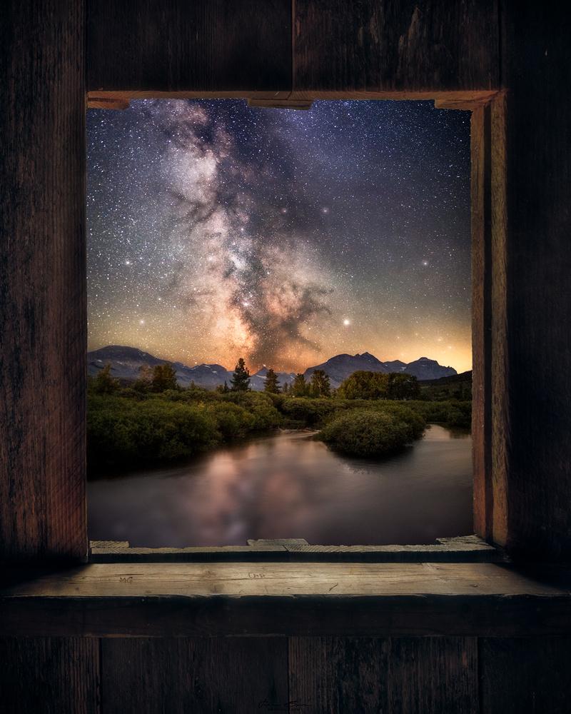 Window to a Dream by John Byrn