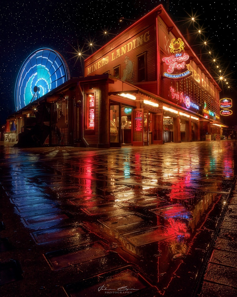 Seattle Nights by John Byrn