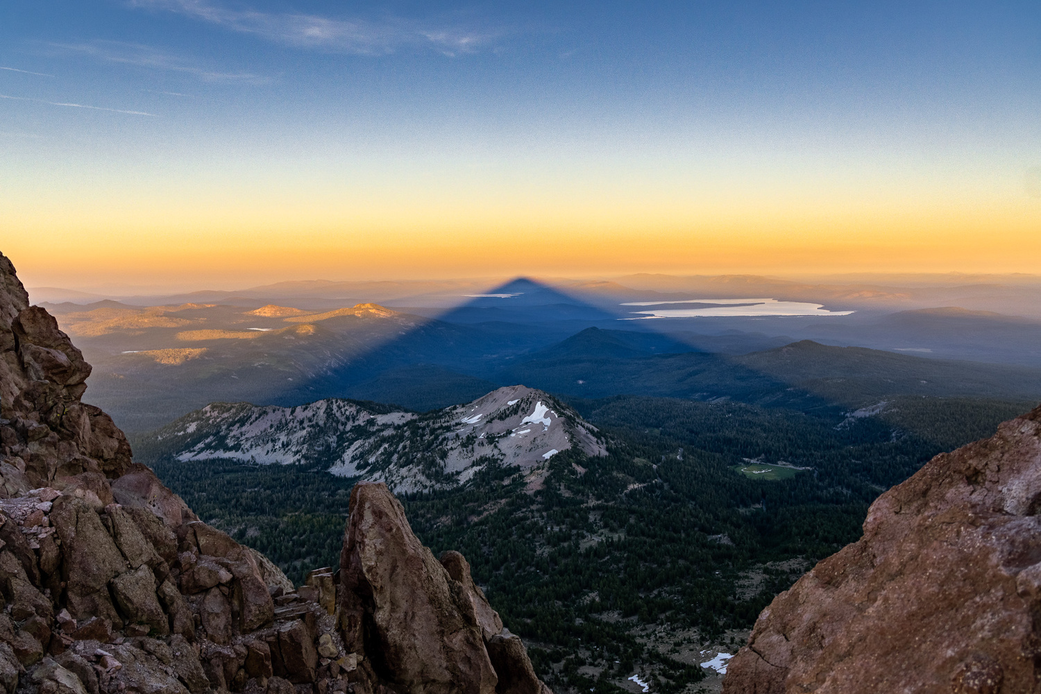 In the Shadow of the Mountain by Matt Chesebrough