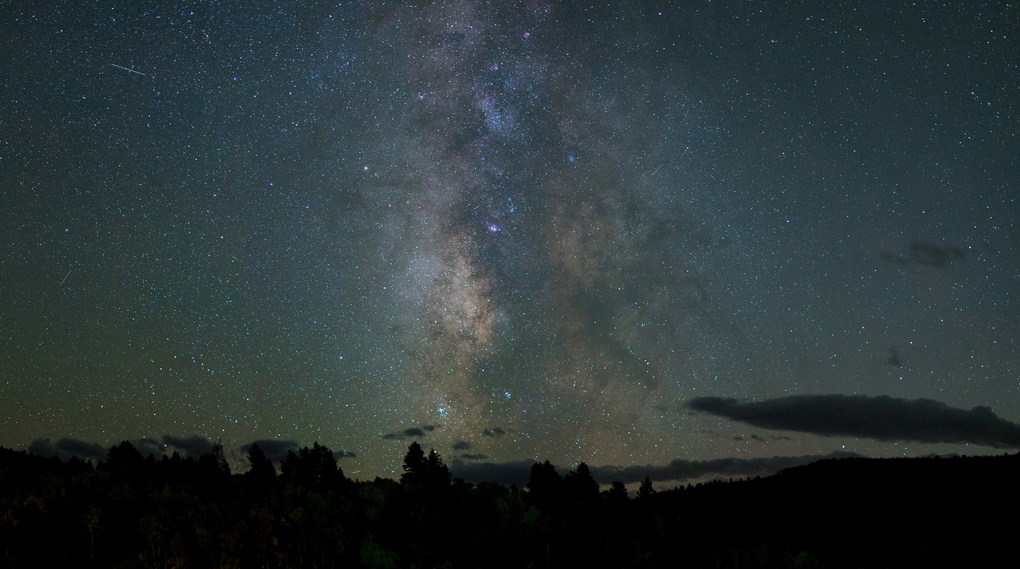 Black Canyon Milky Way by Jared Cook