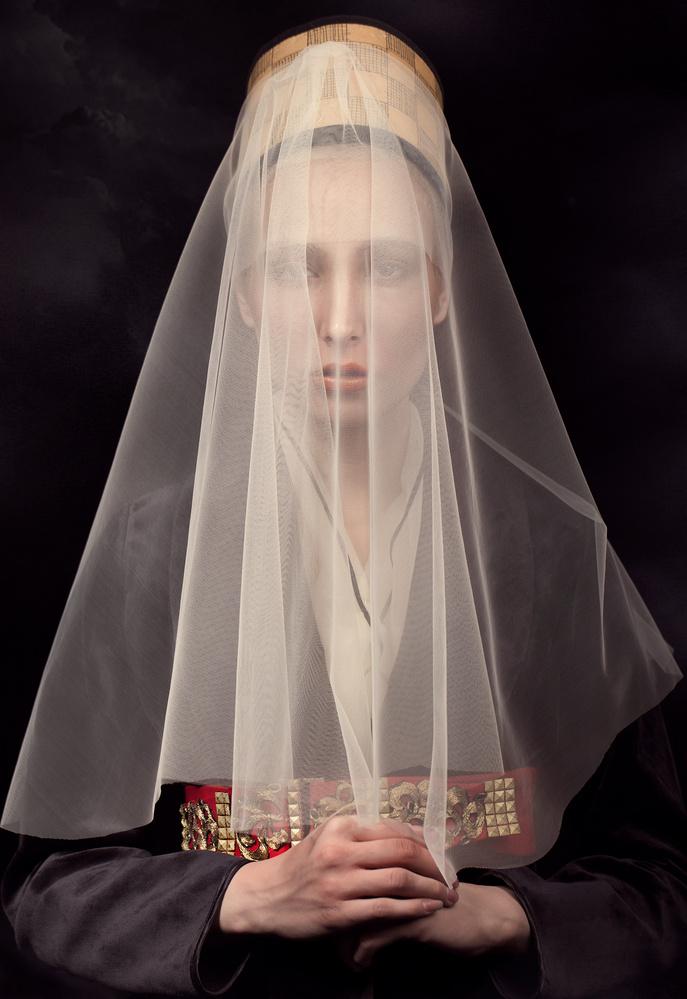 Portrait of a Lady by Peyman Naderi