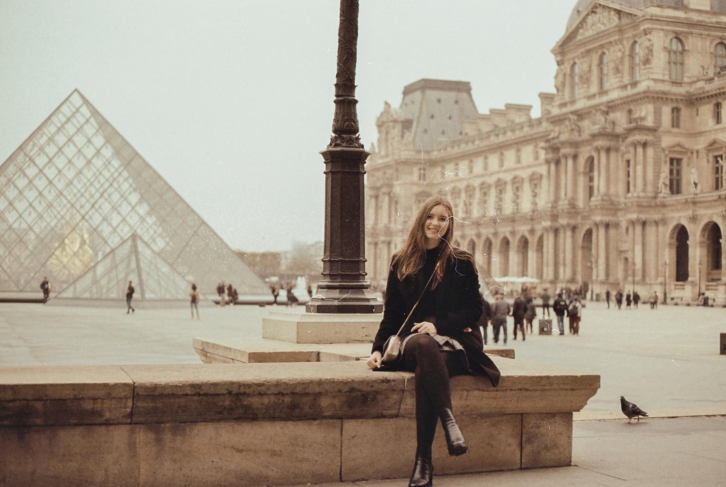 Eve Louvre by Joe Irving