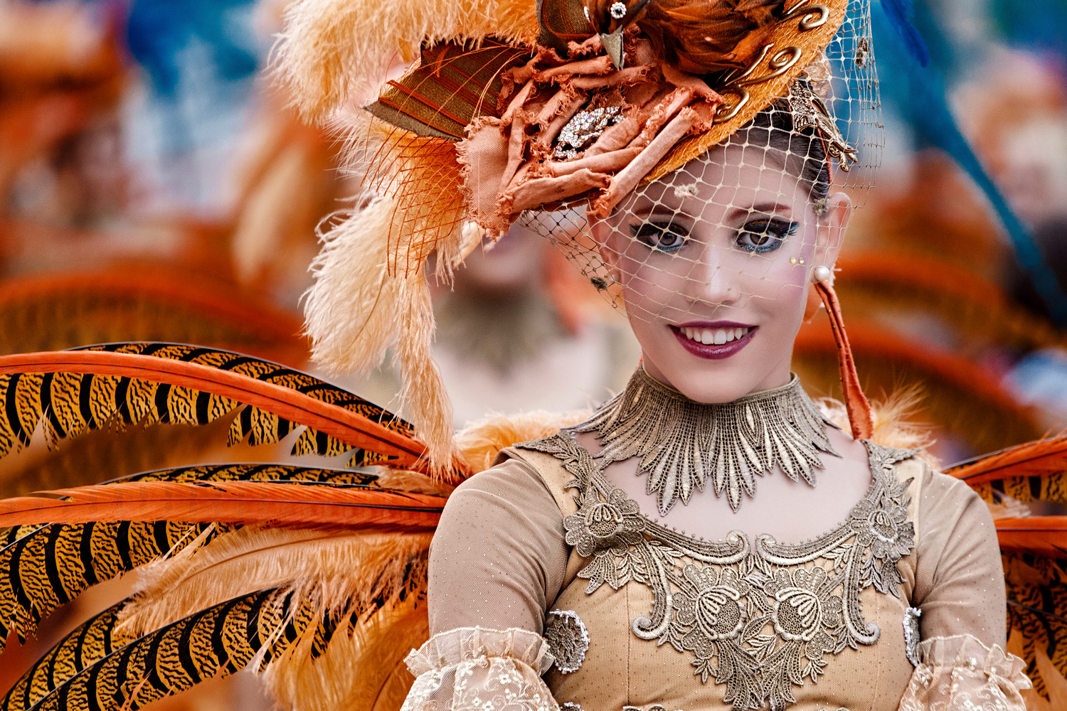 Smile of Carnival by Vicente Concha