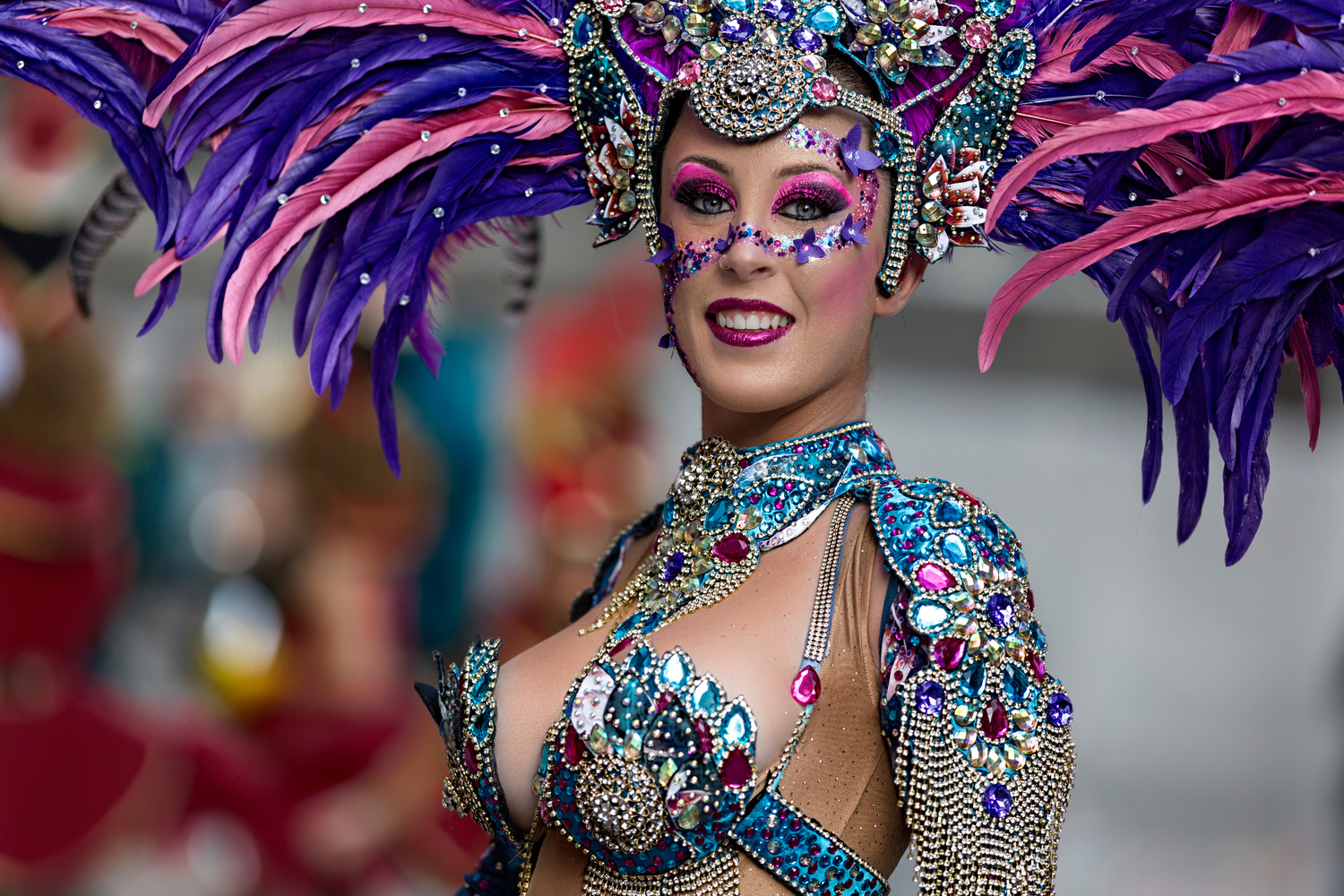 Carnival smile by Vicente Concha