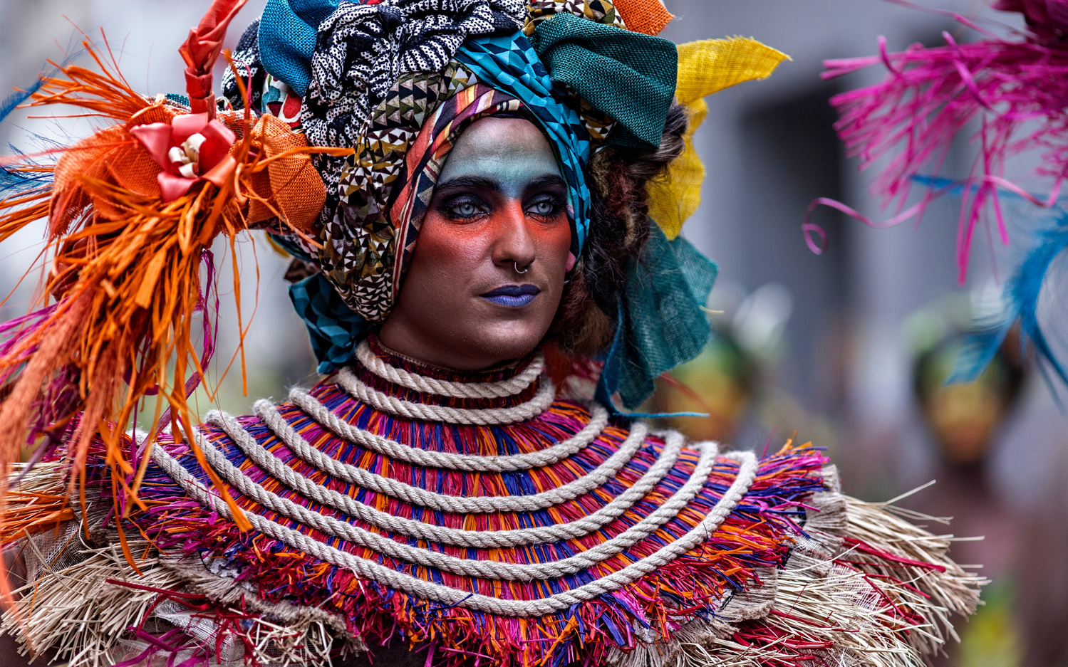 Colorful attitude by Vicente Concha
