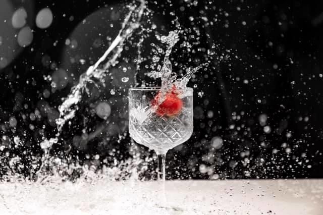 Strawberry Splash by Tom Marshall