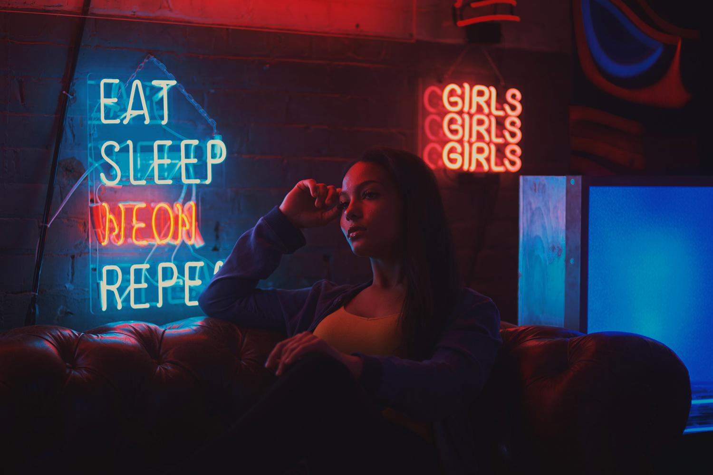Under Neon by Woodrow Walden