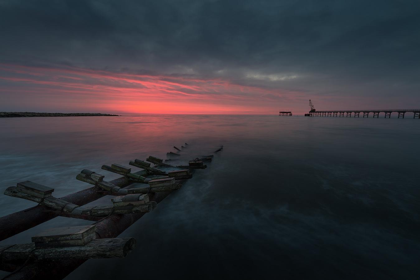 Burning skies by Ivo Kuzov