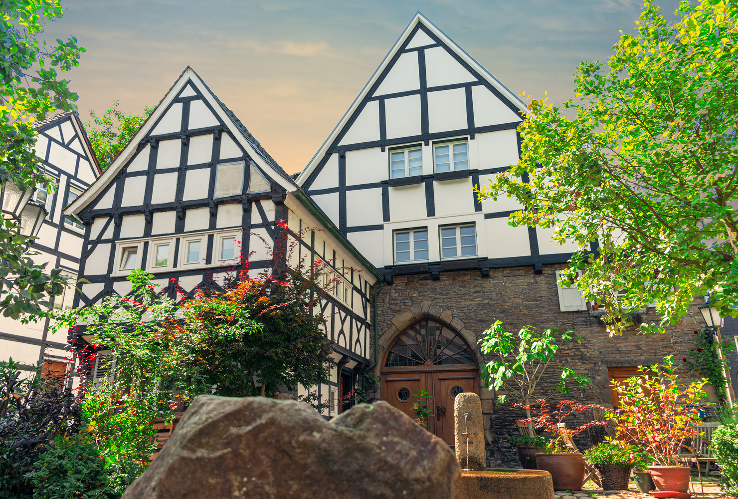 Half-timbered house in Germany by Felix Berger