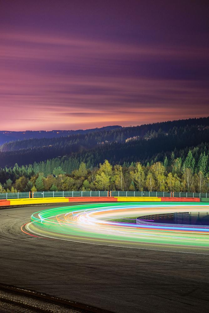 Spa long exposure by Felix Berger