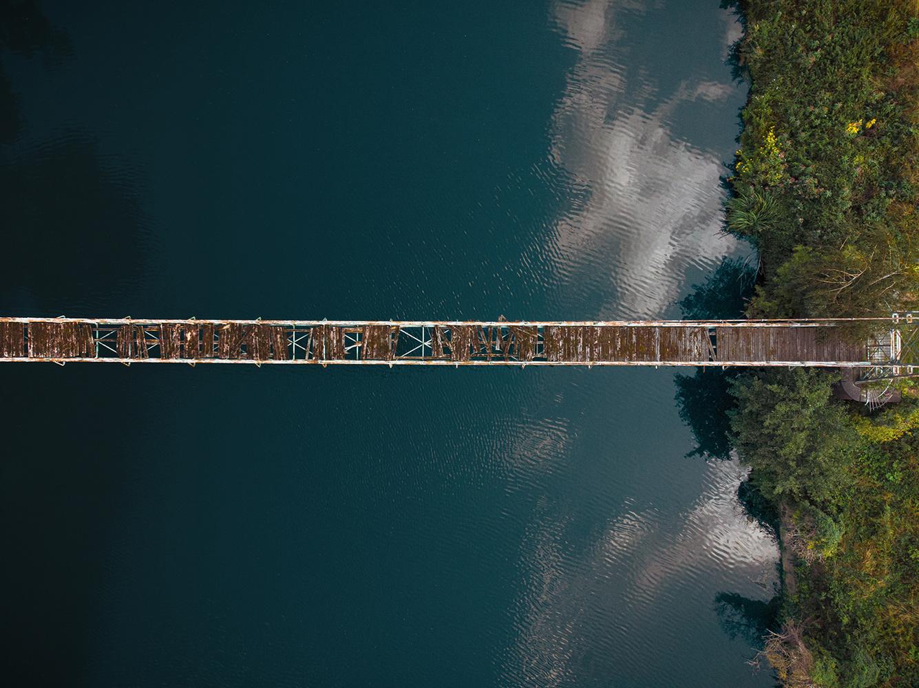 Bridge Top view by Felix Berger