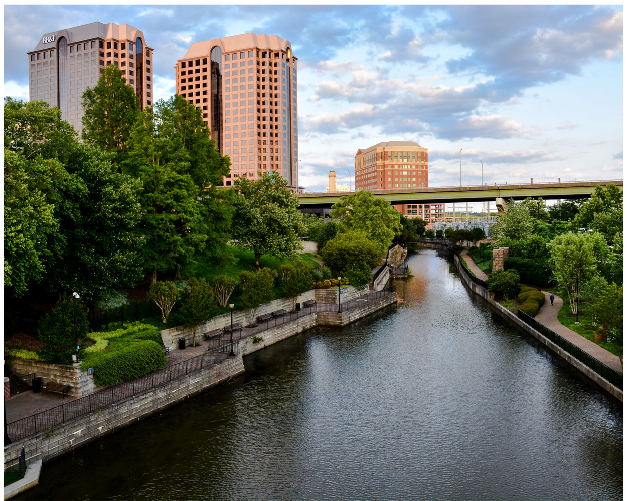 Canal Walk by Joseph Stokes