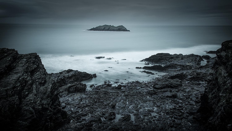 Cornish coast by Keith Newman