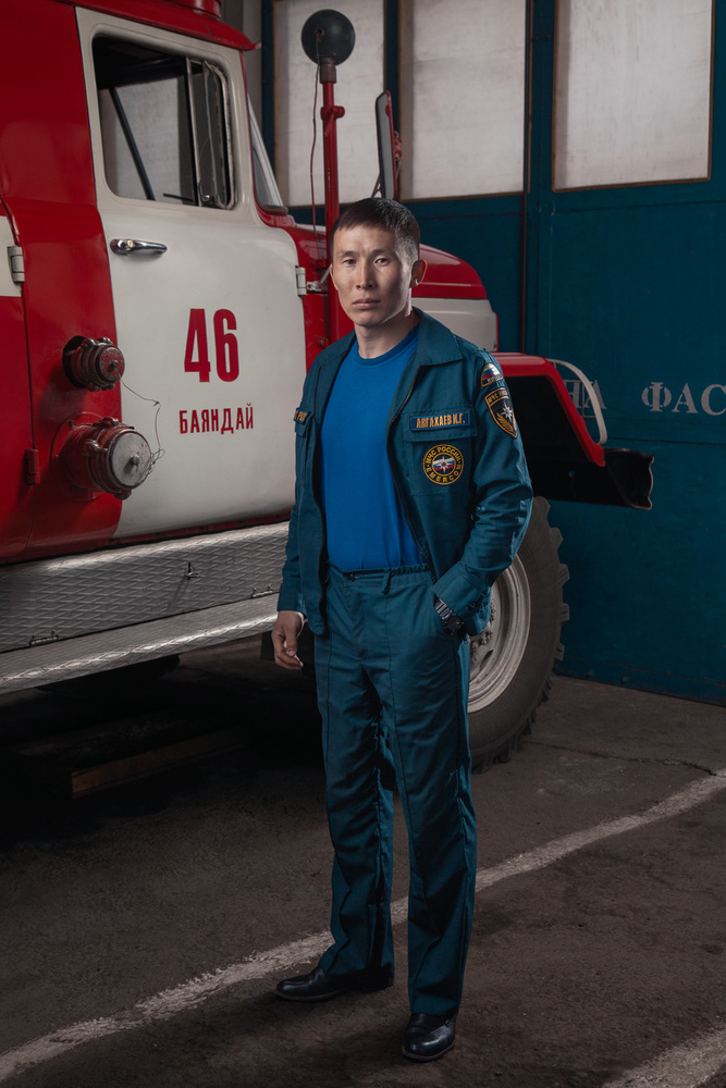 Firefighter by Albert Faskhutdinov
