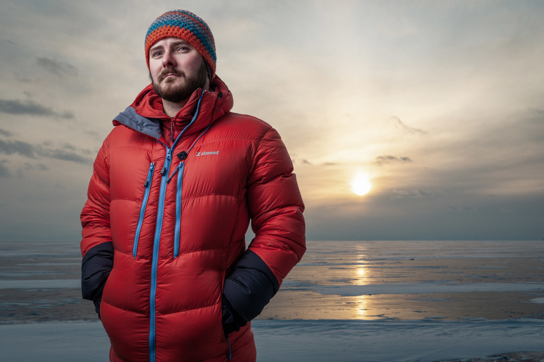 Portrait on Lake Baikal by Albert Faskhutdinov
