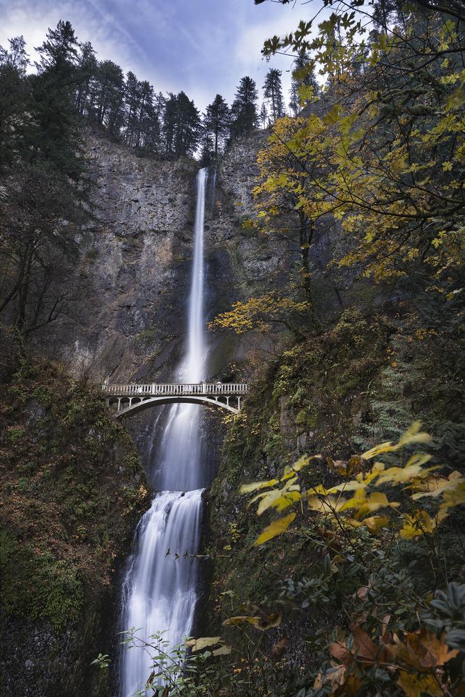 Multnomah Falls by Michael Auffant