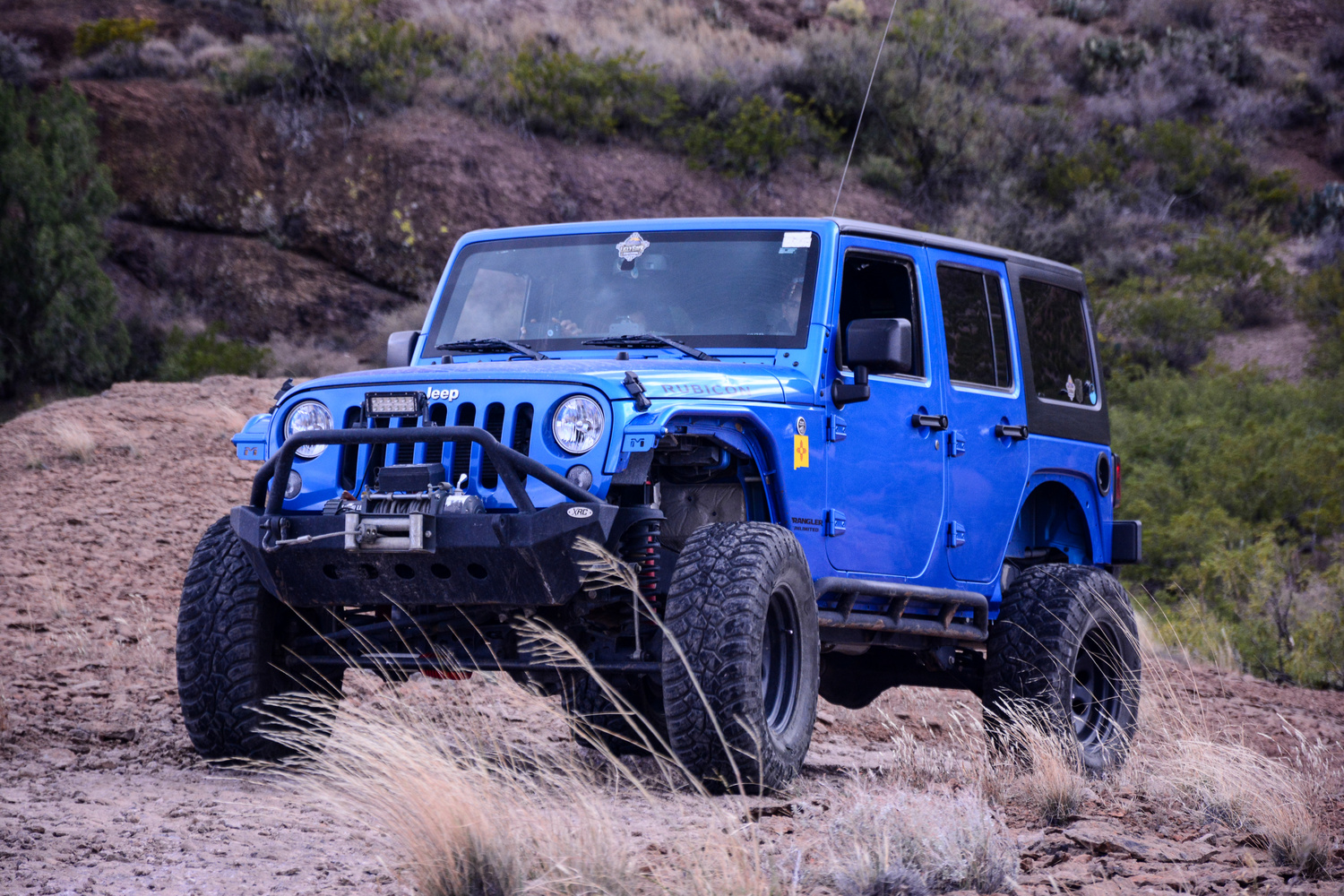 Desert Jeeping by Chase Cordova