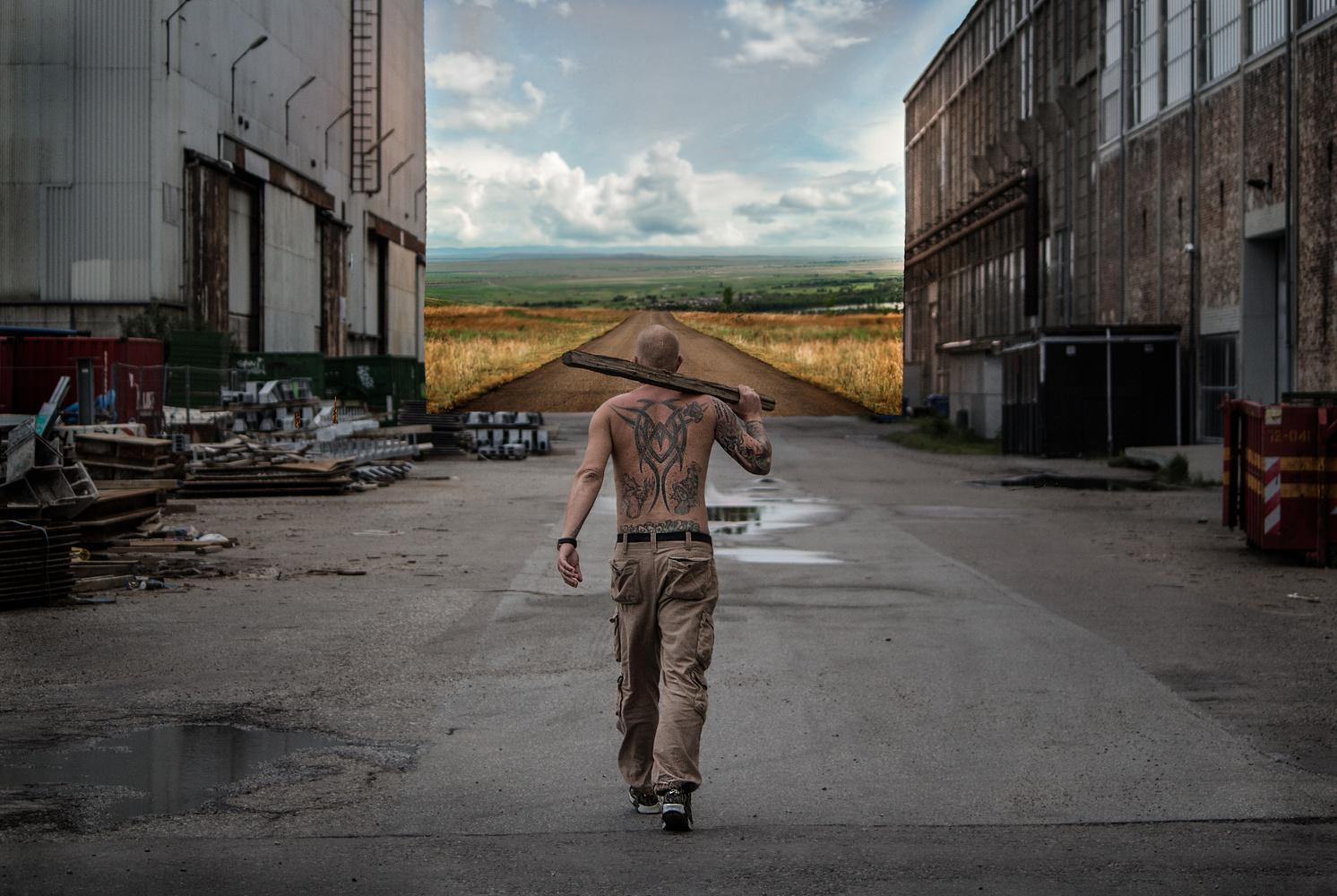 Leaving the hood by Jeanette Bernholm