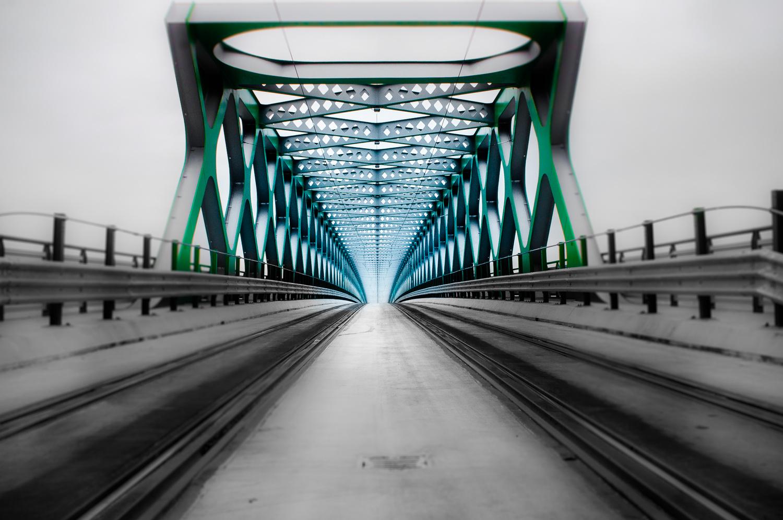 Red army bridge by Mare Jánoš