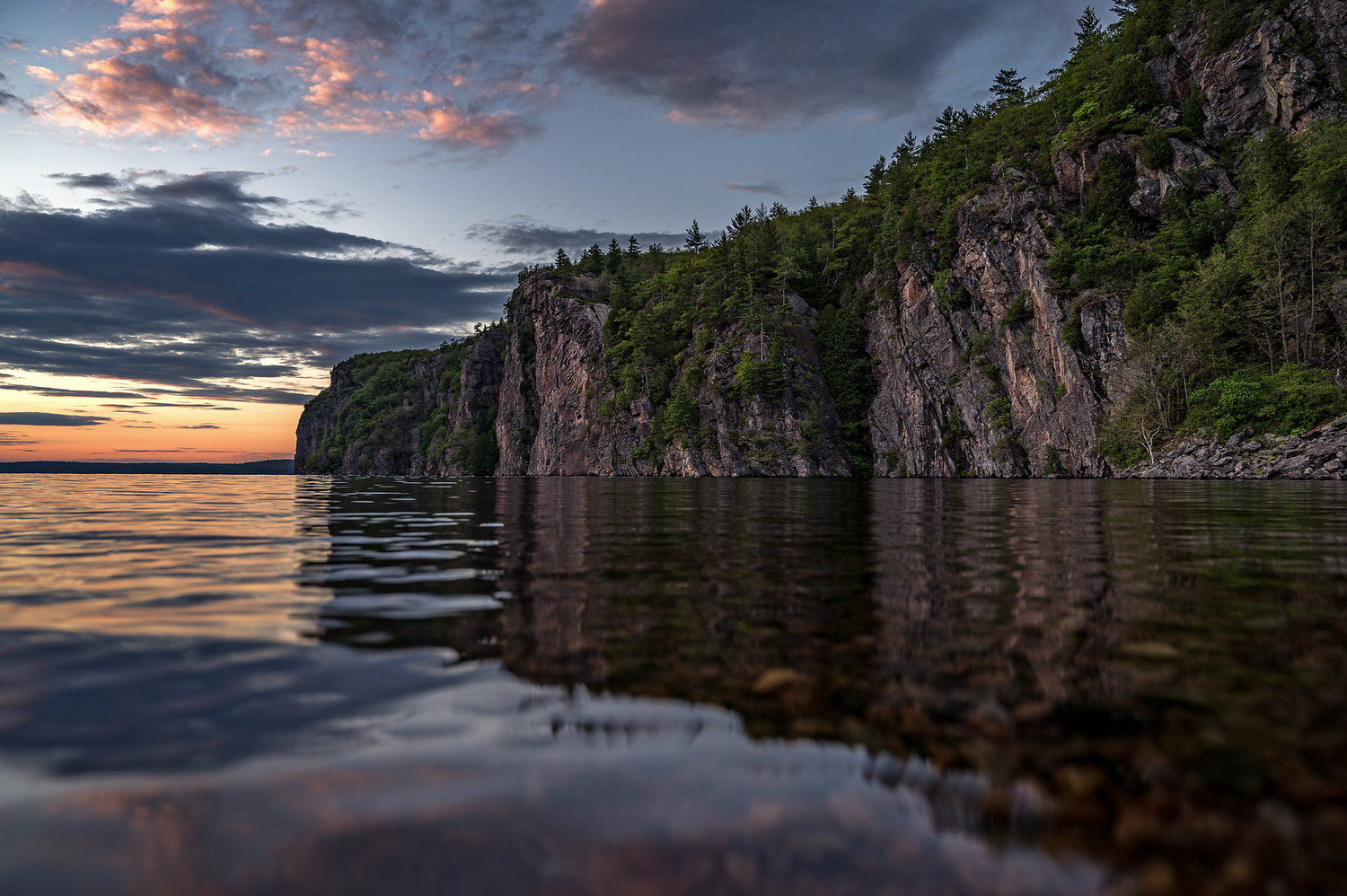 Mazinaw Rock by Eric Parker