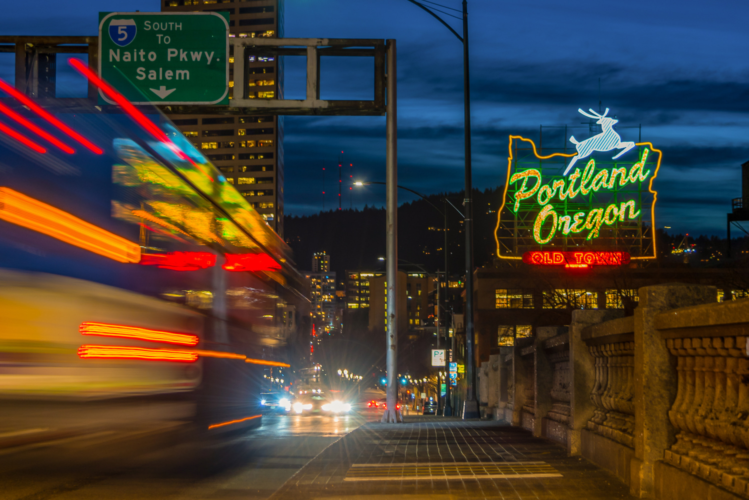 Portland nights by Nick Wiltgen