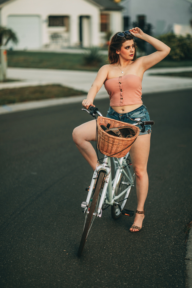 Vintage Bike Portrait by Brock Torunski