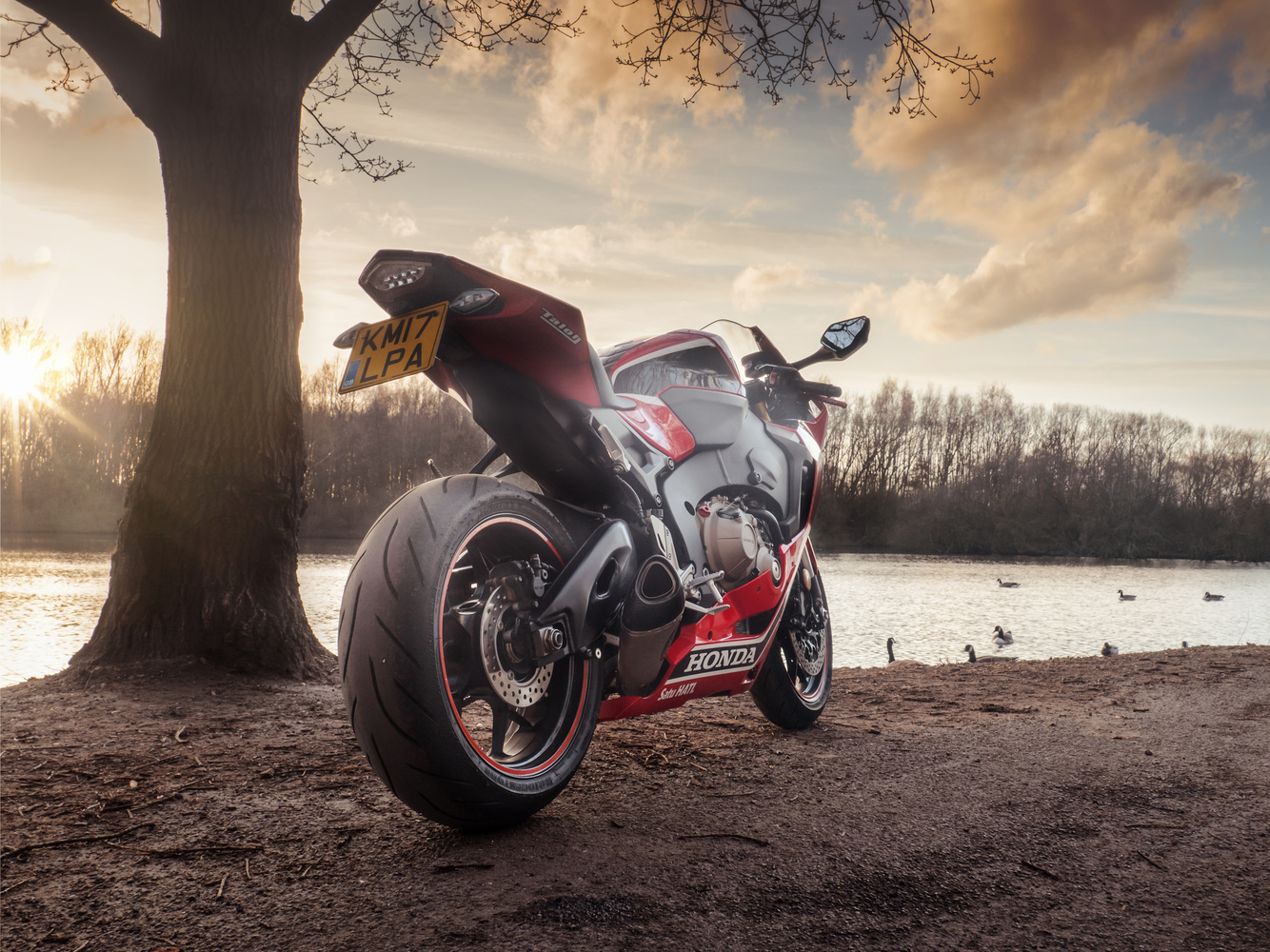 Sunset ride out by Dominik Krzyszczak