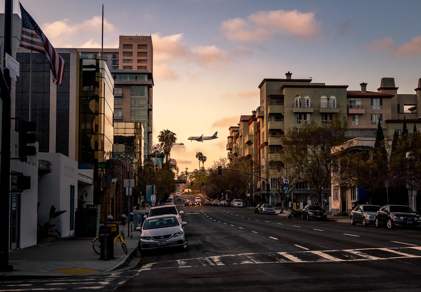 San Diego Evening Scene by Patrick Koss