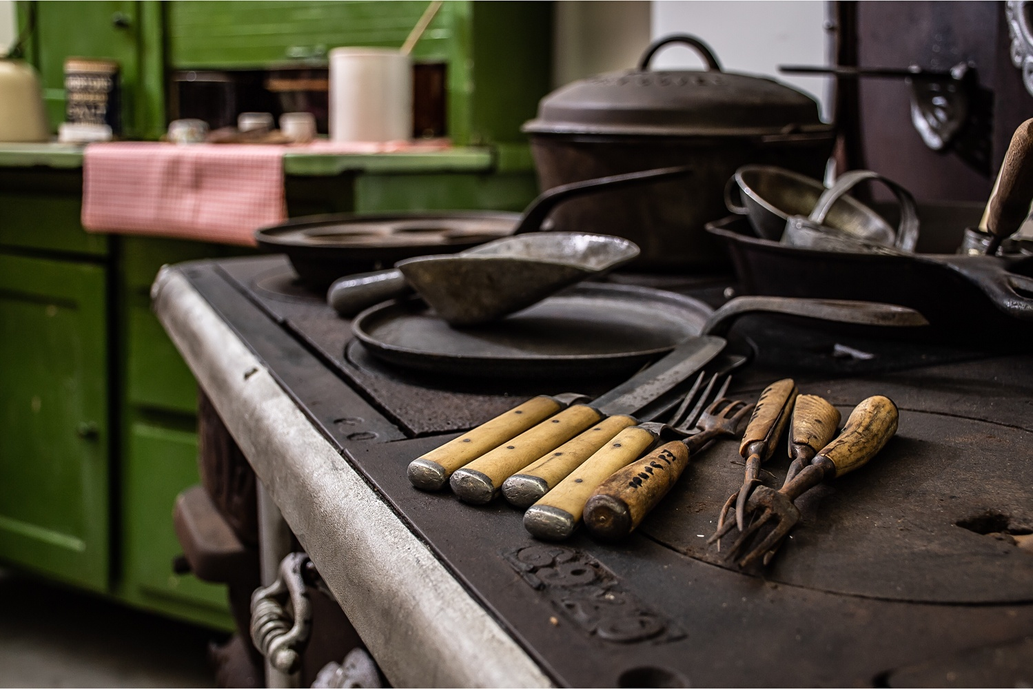 Kitchen Living by Matthew Shaw
